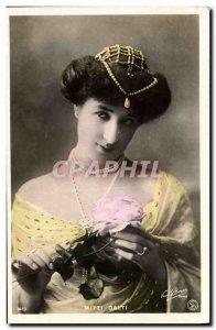 Postcard Old Woman Jewelry Mitzi Dalti