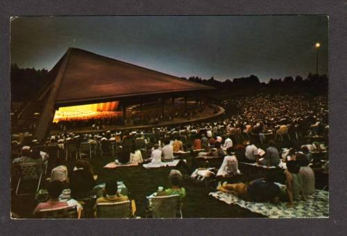 OH Blossom Music Center AKRON CLEVELAND OHIO Postcard