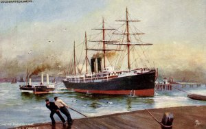 Orient-Pacific Line - RMS Ormuz  (Tuck Celebrated Liners)