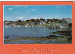 Maine Bailey Island Lands End