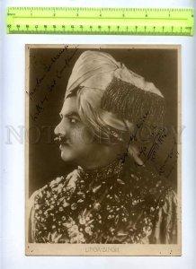 230380 RUSSIA Circus magician LINGA-SINGH autograph 1929 year