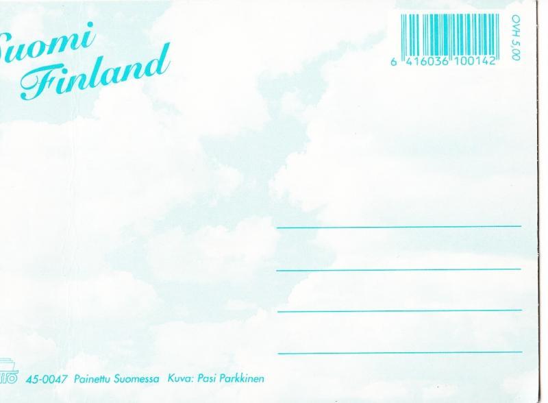 Suomi Finland, unused Postcard