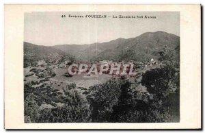 Old Postcard Morocco Surroundings of Ouezzan Zaouia Sidi Kacem