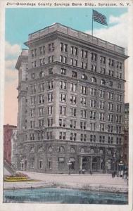 New York Syracuse Onondaga County Savings Bank Building
