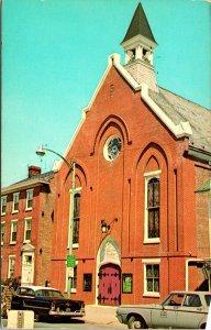 Dover DE Wesley Methodist Church Postcard unused (16420)