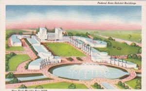 New York World's Fair 1939 Federal Area  Exhibit Buildings