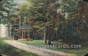 Victoria Park Drive & Bandstand Sherbrooke, PQ Canada 1909