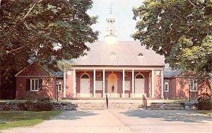 Community House in Hamilton, Massachusetts
