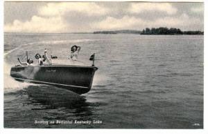 Boating on Beautiful Kentucky Lake,  Kentucky,  00-10s