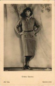 CPA Greta Garbo FILM STAR (1070157)