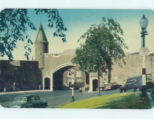 Pre-1980 TOWN VIEW SCENE Quebec City QC p9873
