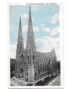 Saint Patrick's Cathedral New York City New York c1910