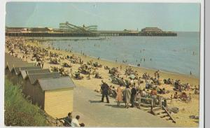 Essex; Pier From West Beach, Clacton On Sea PPC, 1963, To Mrs Jones, Hornchurch