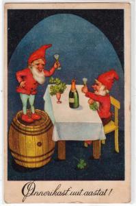 Gnomes Drinking - Onnerikast uut aastat