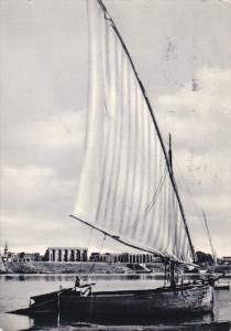Sailboat , UAR (Egypt) , Luxor , 1964