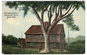 Deerfield, Mass, Old Indian House, Built 1686