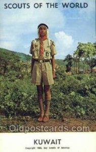 Kuwait Boy Scouts of America, Scouting Postcard, Post Cards, Copyright 1968 U...