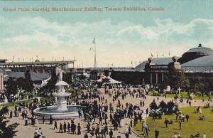 Grand Plaza, Showing Manufacturers' Building, Toronto Exhibition, Toronto, Ca...