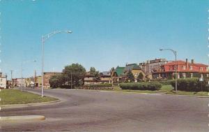 Street View , RIMOUSKI , Quebec  , Canada , 1950-60s #3