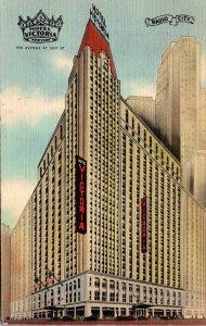 New York City Hotel Victoria 1945