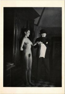 CPM RISQUE, MAN RAY, MERET OPPENHEIM 1929 (d1485)