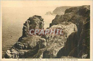 Postcard Old Cap Frehel C N The Fauconniere and the Bay of S?vign?s