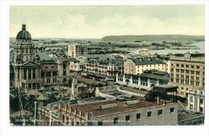 Durban Town Hall, Gardens, Showing Bluff & Docks In Distance, Durban, South A...