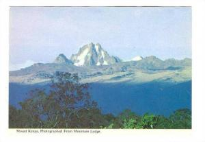 Mount Kenya, from Mountain Lodge,Kenya,50-70s