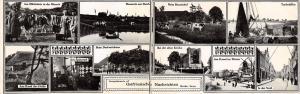 Breda IA German Newspaper Ostfriesen~Main St~Kirche~Kanal~Cows~Double-Wide c1910
