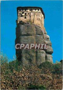 Postcard Modern Meteora Monastery Roussanou