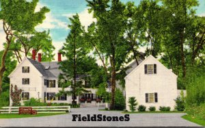Massachusetts Andover FieldStones Restaurant By Sally Bodwell