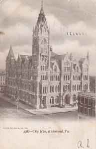 RICHMOND, Virginia, PU-1905; City Hall