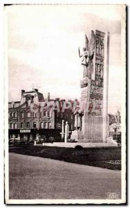 Old Postcard Arras - Square Station