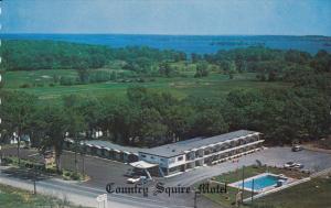 Country Squire Motel, 1000 Islands, GANANOQUE, Ontario, Canada, 40-60s