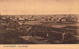 Syria Lattaquie Vue Generale General view Postcard