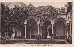 SEVILLA, Andalucia, Spain, PU-1928; Casa De Pilatos, Patio De Entrada