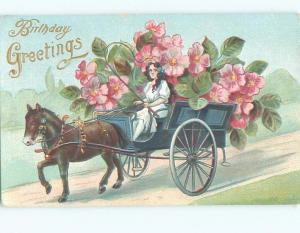 Divided-Back PRETTY WOMAN Risque Interest Postcard AA8030
