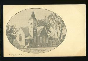 Amesbury, Massachusetts/MA/Mass Postcard, Christian Church