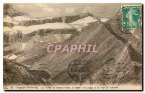 Old Postcard Corque Gavarnie Taillon false Breche the helmet and the Tower of...