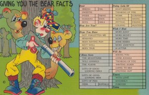 Giving you the BEAR Facts , Hunter & Bear Comic , 1930-40s