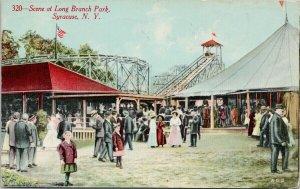 Syracuse NY Long Branch Park c1913 Rudolph Bros Postcard E73