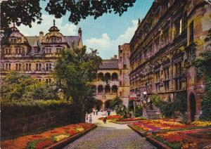 Germany Heidelberg Blumentage in Schlosshof