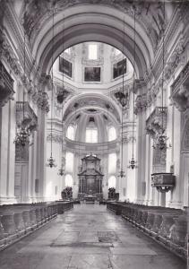 Austria Salzburg Dom Hauptschiff mit Kanzel und Presbyterium Photo