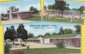 South Carolina Trenton Town & Country Motel U S Highway 25 sk766