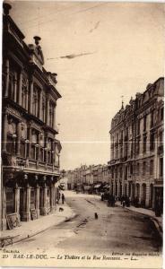 CPA Bar le Duc-Le Théátre et la Rue Rousseau (231994)