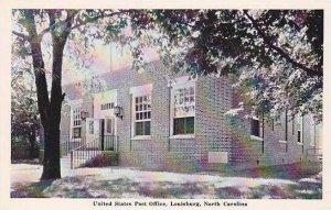 North Carolina Louisburg United States Post Office