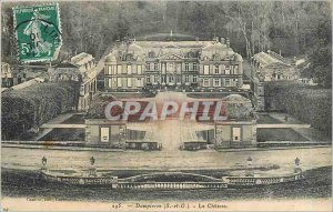 Old Postcard Dampierre S and O Chateau