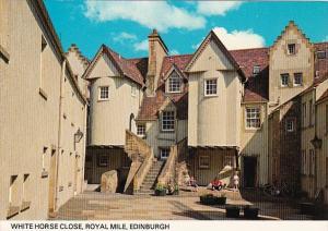 Scotland Edinburgh White Horse Close Royal Mile