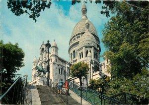 Postcard France Paris Sacre Coeur