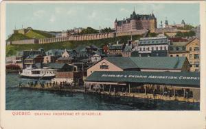 Richelieu & Ontario Navigation Company, Chateau Frontenac Et Citadelle, 1920-30s